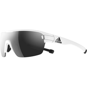adidas Zonyk Aero Okulary S, white matt/chrome
